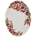 multi Paul Costelloe Living Leaf Oval Platter