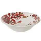 multi Paul Costelloe Living Leaf Pasta Bowl