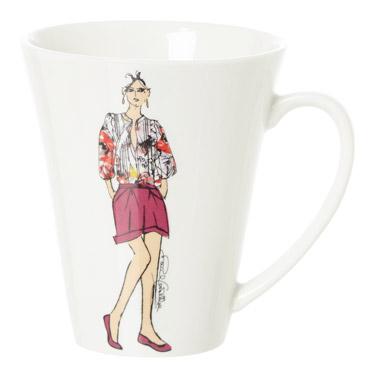 Paul Costelloe Living Lady Mug