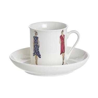 Paul Costelloe Living Lady Espresso Set