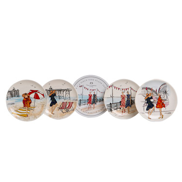 Paul Costelloe Living Lady Side Plate Set