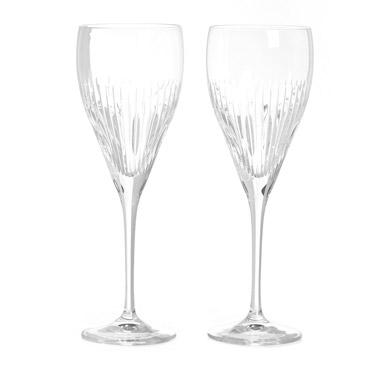 Paul Costelloe Living Crystal Wine Glasses - Set Of 2
