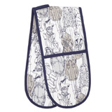 mink Paul Costelloe Living Lady Double Oven Glove