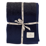 navy Paul Costelloe Living Reno Throw