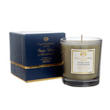 navy Paul Costelloe Living Mock Croc Candle