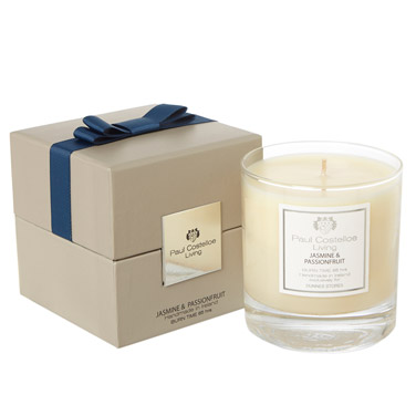 navy Paul Costelloe Living Bow Scented Candle