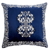 navy Paul Costelloe Living Camilla Cushion