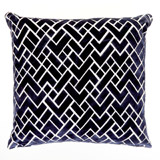 navy Paul Costelloe Living Hagen Cushion
