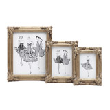 silver Paul Costelloe Living Decadent Frame