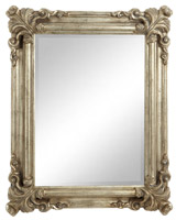 silver Paul Costelloe Living Decadent Mirror