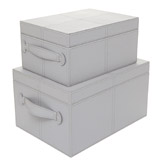 elephant Paul Costelloe Living PU Storage Box