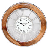 brown Paul Costelloe Living Meera Clock