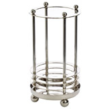 silver Paul Costelloe Living Umbrella Stand