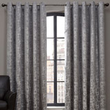 grey Paul Costelloe Living Hamilton Grey Chenille Curtain