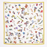 print Peter O'Brien Accessory Silk Scarf