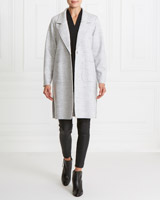 grey Gallery Raw Edge Coat