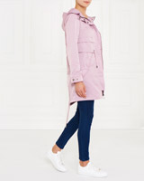 blush Gallery Flap Parka