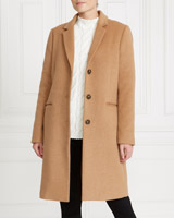 camelGallery Crombie Coat