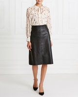 black Gallery PU Skirt