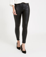 black Gallery Coated Jeans