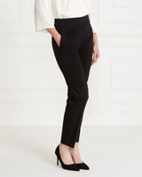 blackGallery Elastic Back Trousers