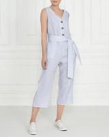 blueGallery Linen Jumpsuit