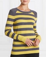 grey Gallery Stripe Jumper