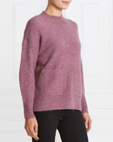 purple Gallery Pocket Jumper