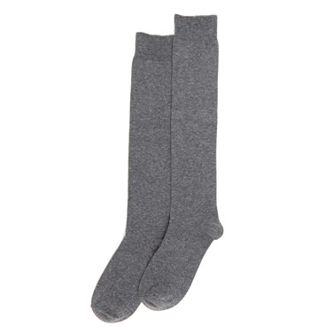 21c0e926a06 charcoal Basic Knee High Socks - Pack ...