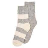 grey-marl Thermal Boot Socks - Pack Of 2