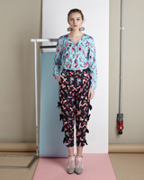 multiJoanne Hynes Abstract Bow Trousers