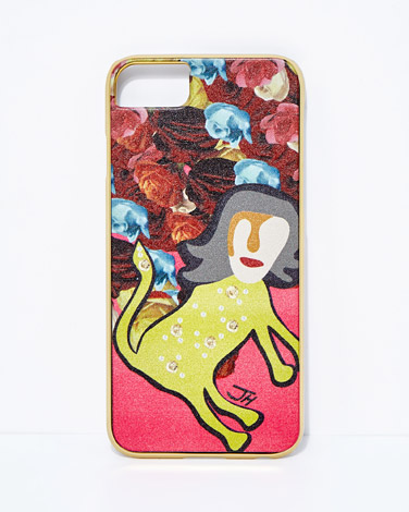 Joanne Hynes Tiger Lady iPhone Cover