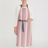multi Helen James Considered Mixed Stripe Apron