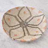 orange Helen James Considered Large Seagrass Bowl