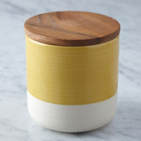 yellow Helen James Considerd Brook Small Storage Container