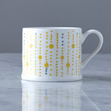 yellow Helen James Considered Dotty Mug