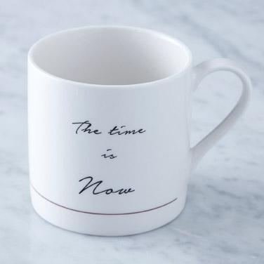 whiteHelen James Considered Time Is Now Mug