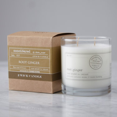 Helen James Considered Two Wick Candle