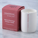 pink Helen James Considered Candle With Essential Oils