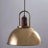brass Helen James Considered Large Pendant