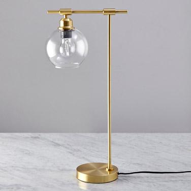 brassHelen James Considered Glass Table Lamp