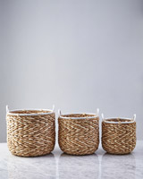 natural Helen James Considered Zig Zag Basket