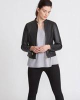 blackPaul Costelloe Living Studio Leather Jacket