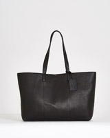 black Paul Costelloe Living Studio Shopper Tote Bag