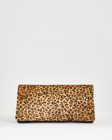 leopard Paul Costelloe Living Studio Leopard Clutch Bag