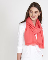 coral Paul Costelloe Living Studio Luxury Scarf