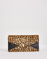 leopard Paul Costelloe Living Studio Envelope Wallet