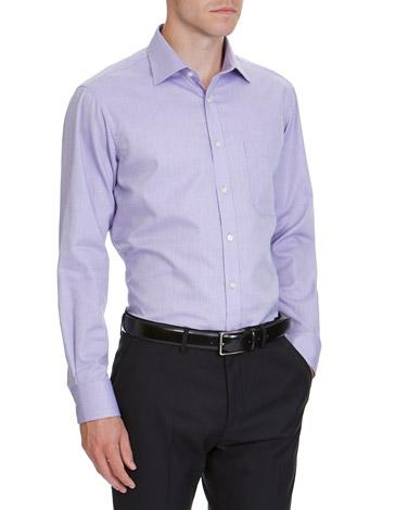 5d6059c4c purplestripe Regular Fit Quick Iron Shirt