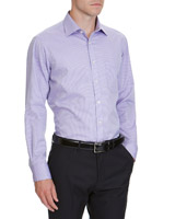 purplestripe Regular Fit Quick Iron Shirt