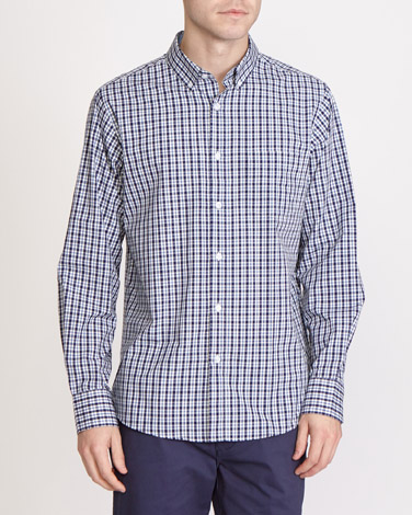 Regular Fit Long Sleeve Check Shirt